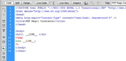 Php Magic Constants Usage And Debugging With Examples Tutorialchip