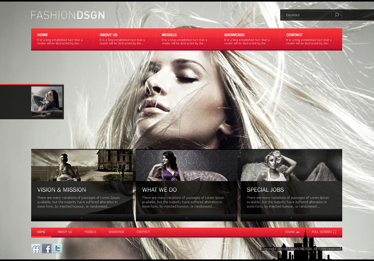 Fashion Design Portfolio Blog Wp Theme Tutorialchip