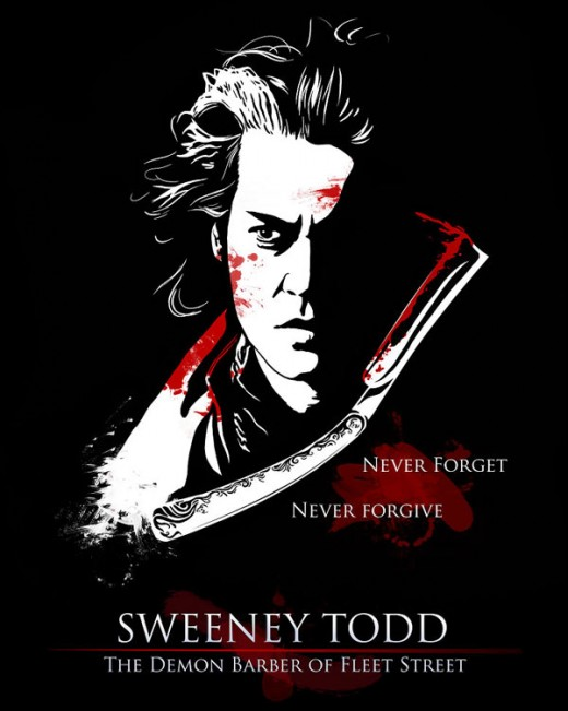Sweeney Todd Poster. Sweeney Todd Poster