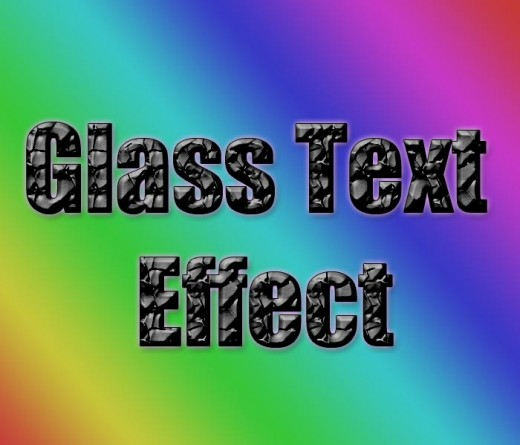 how to create glass effect in photoshop