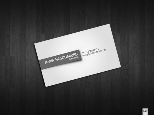 20 Sophisticated Simple Business Card Designs - TutorialChip