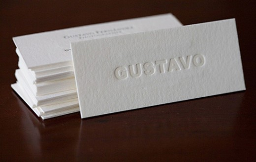 20 sophisticated simple business card designs tutorialchip for Sophisticated business cards