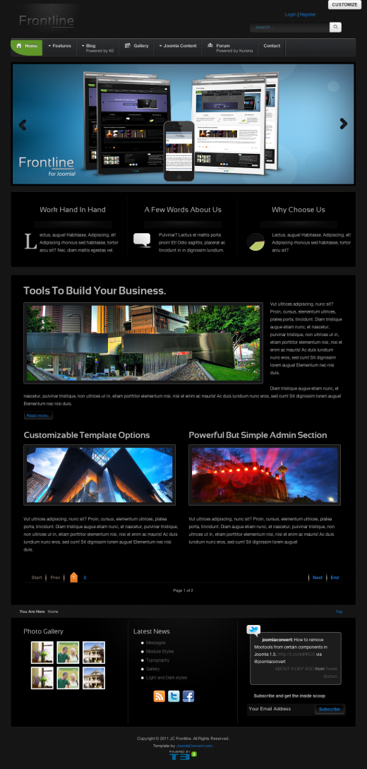 clean joomla templates professional joomla the best joomla and drupal cms themes released in 2011