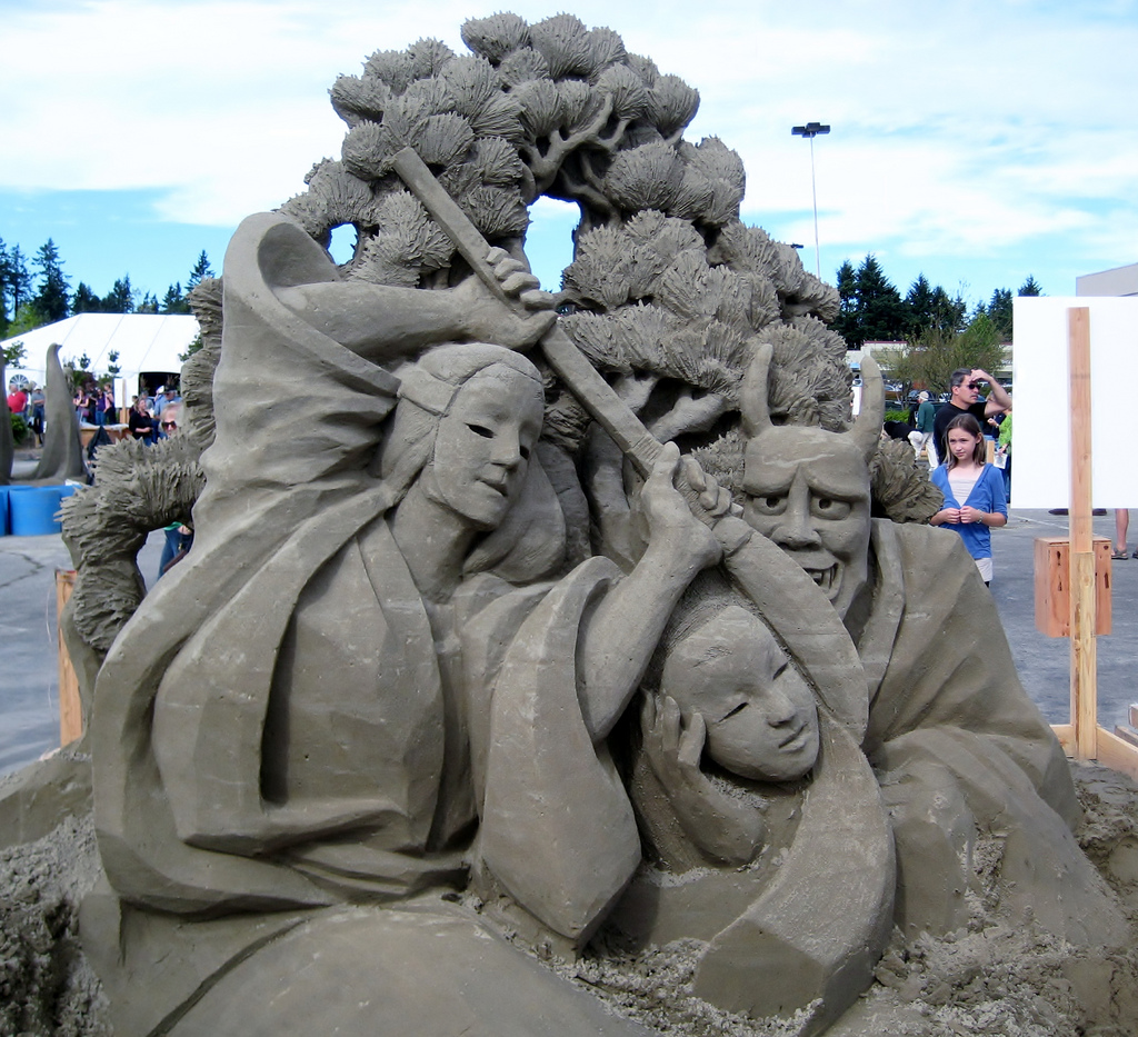 35 Stunning Examples Of Sand Sculptures Photography