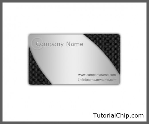 Download free metallic business card psd file tutorialchip metallic business card psd file reheart Images