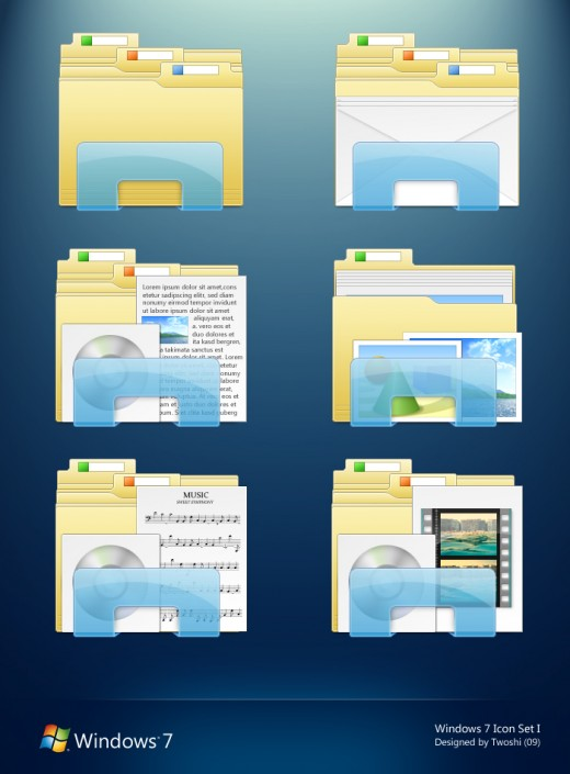 20 Free Creative Folder Icon Sets for Your Inspiration ...