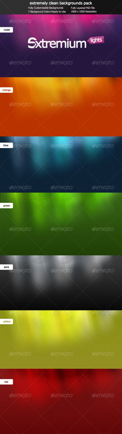 Colors for professional website - 2 Extremium Lights Extremely Clean Background Pack