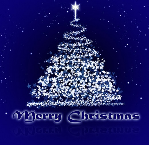 Blue Christmas Tree Wallpaper: 40 Magnificent Examples Of Free Christmas Wallpapers