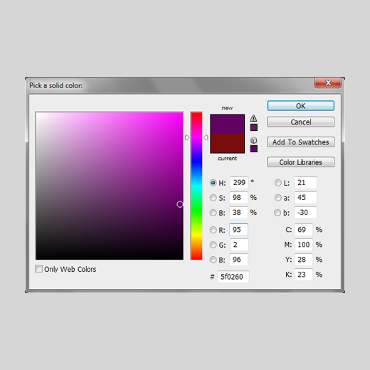 how to change color of shape in photoshop