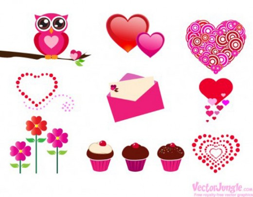 More Free Valentineu0027s Day Icons