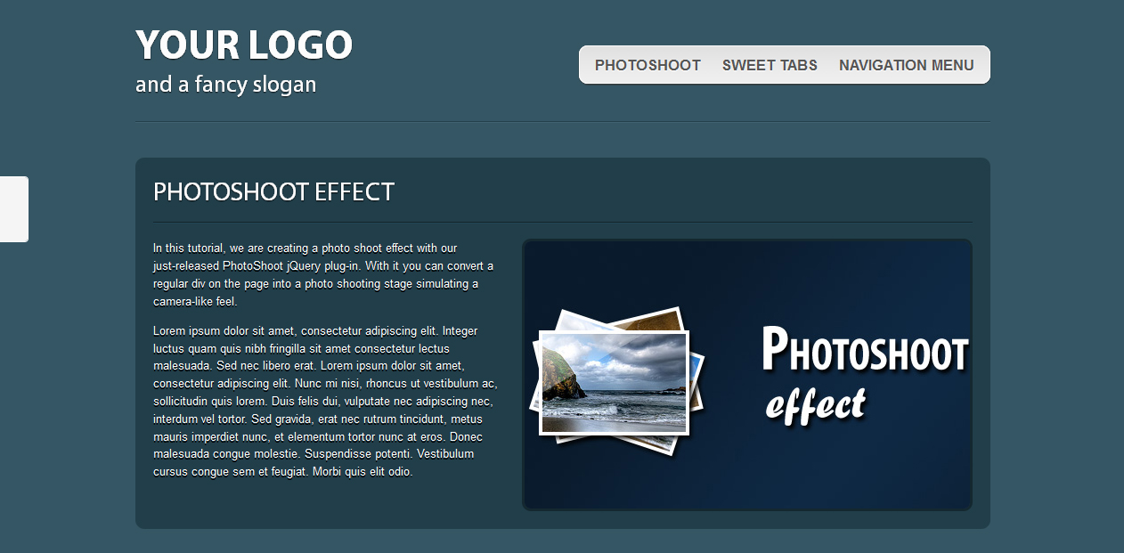 wordpress attachment page template - html5 one page website template tutorialchip