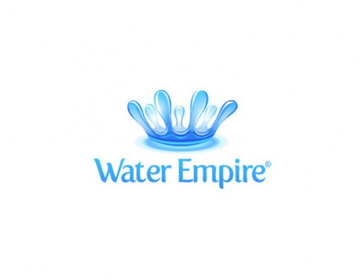 30 most inspirational water logo designs tutorialchip for Innovative pool design kings mountain
