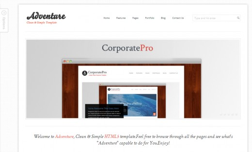 25 Amazing HTML5 and CSS3 Website Templates - TutorialChip