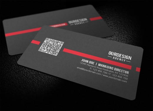 Amazing examples of qr code business card designs for Create qr code business card