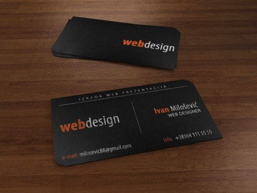 25 fresh and creative business cards tutorialchip business card web design reheart