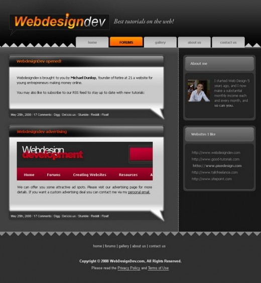 learn how to design a website