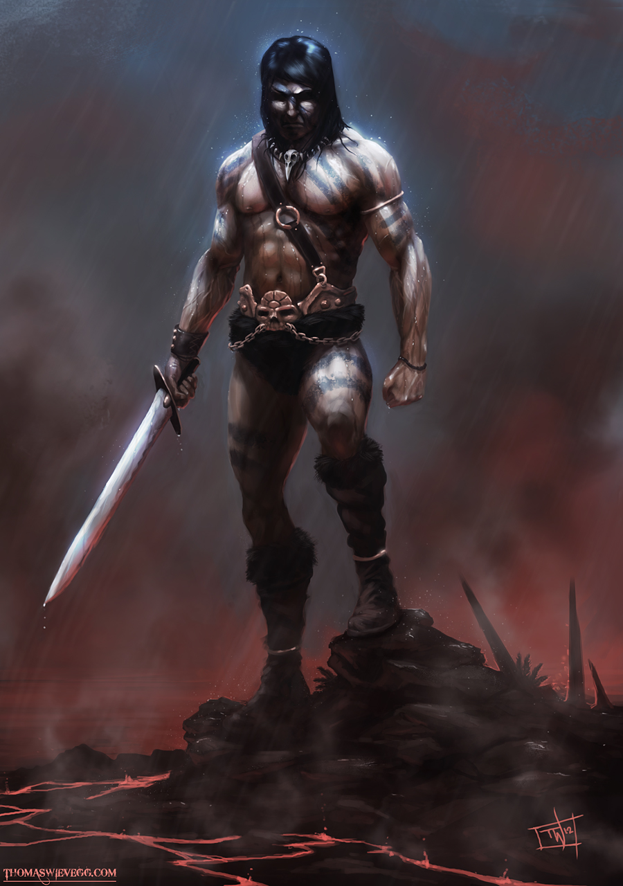 22 Awesome Conan The Barbarian Illustration Artworks