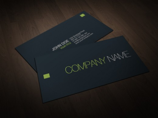 24 Awesomely Minimal Business Cards Designs TutorialChip