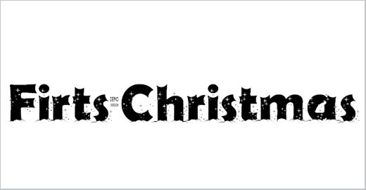 Firts Christmas Font