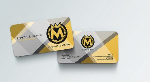 Business Card Designs For Fashion Designer