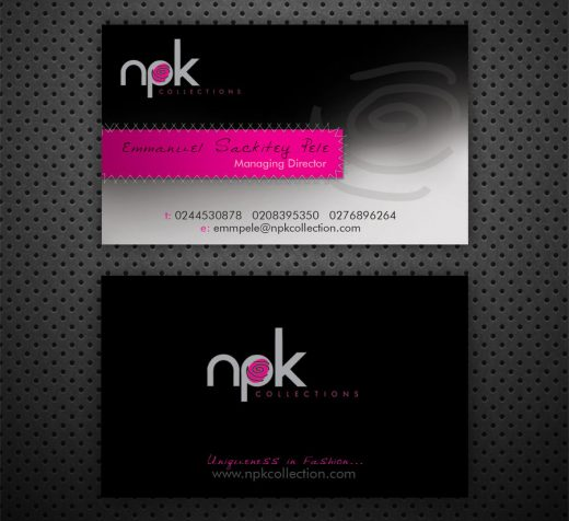 Business Card: NPK Collections