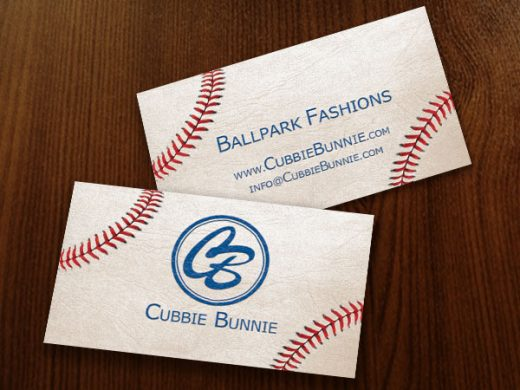 Cubbie Bunnie Business Cards