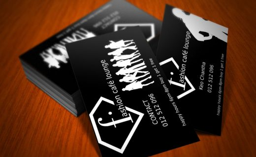 Fashion Lounge Business Card