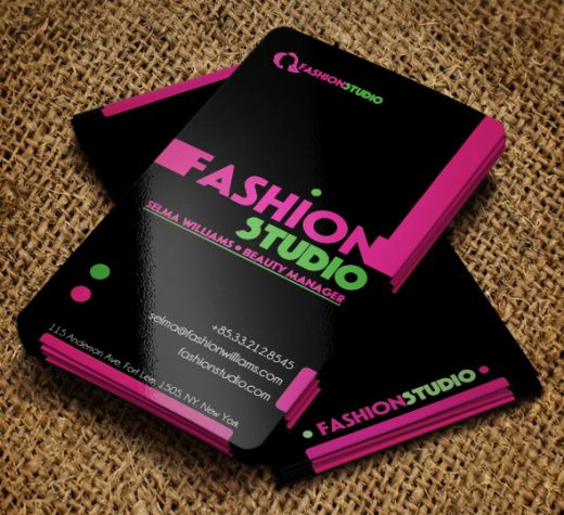 Fashion Studio Business Card