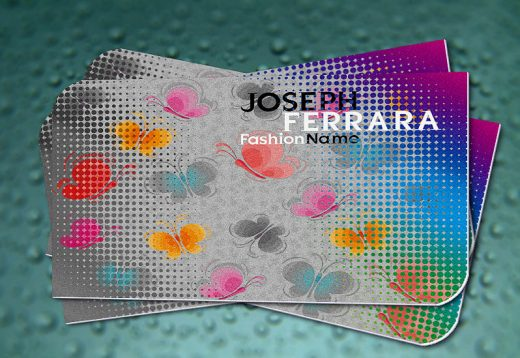 Fashion and Beauty Business Card