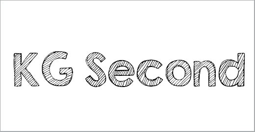 KG Second Chances Solid Font