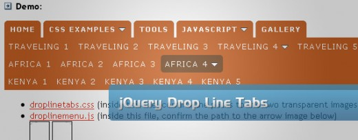 32 jQuery and CSS Drop Down Menu Examples and Tutorial - TutorialChip