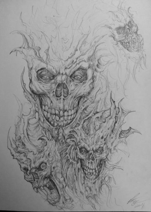 35 Absolutely Creative Pencil Drawing Artwork Tutorialchip