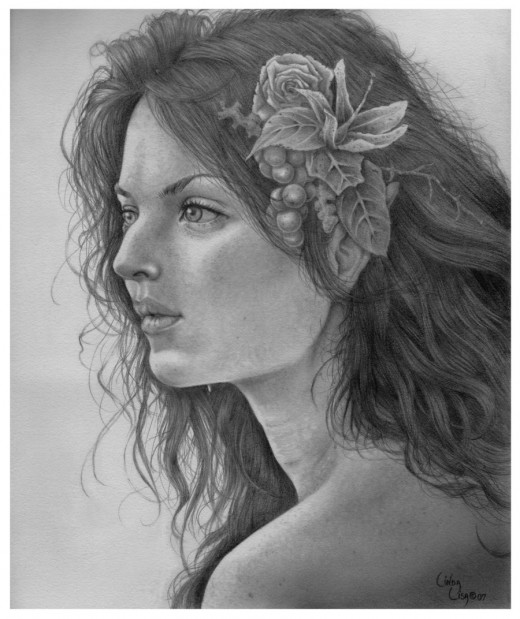 Pencil Drawing Artwork
