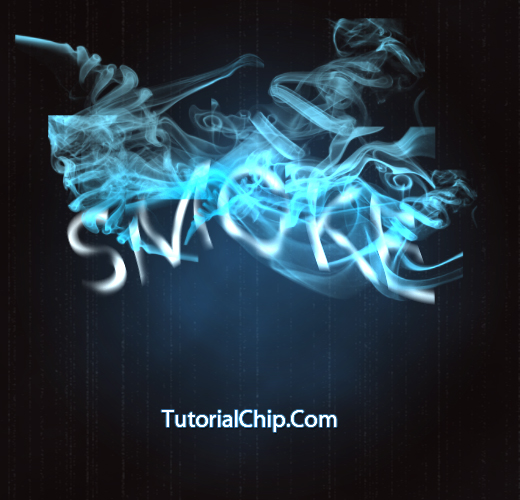 photoshop smoke text tutorial in 10 minutes