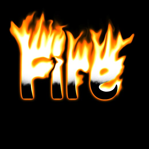 Well-Explained Fire Text Effect Tutorial in Photoshop - TutorialChip