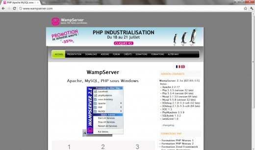 WAMP Server Installation Guide for Windows 7 32/64 Bits - TutorialChip