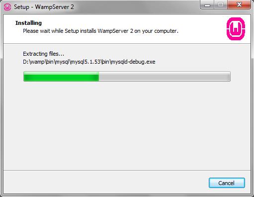 wampserver 2.2d