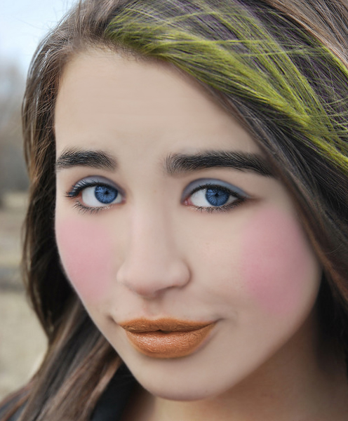 How to Apply Face Makeup in Photoshop CS5 - TutorialChip