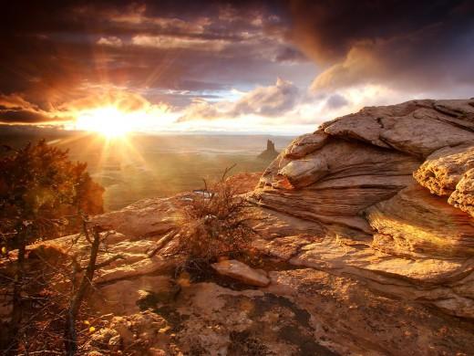 Amazing nature background