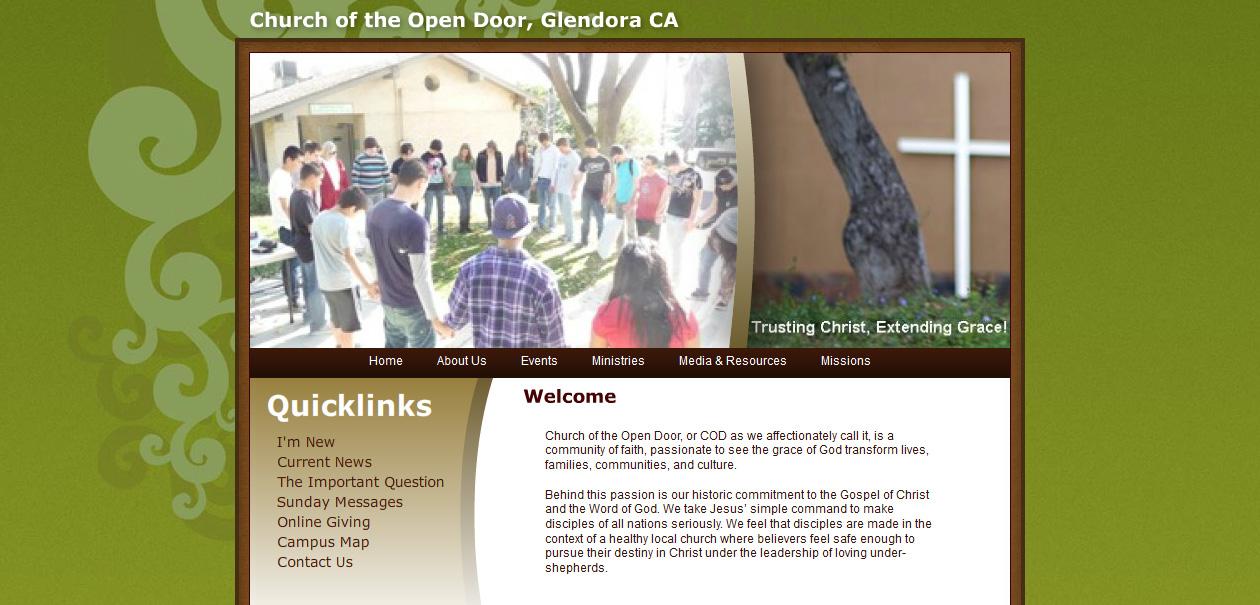 Church Of The Open Door Tutorialchip