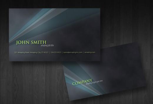 Free Business Card PSD v1