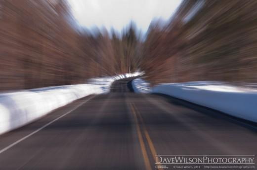Open Road in Winter