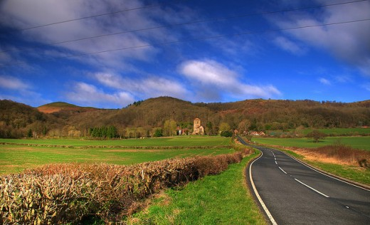 The Road To Little Malvern Priory
