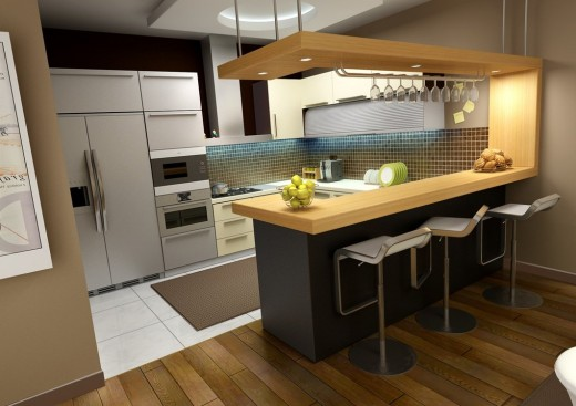 . 25 Delightful Modern Kitchen Interior Design Ideas   TutorialChip