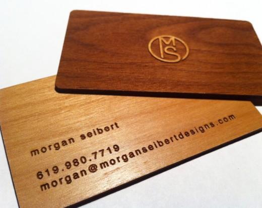 Unique Wooden Business Cards Designs Tutorialchip