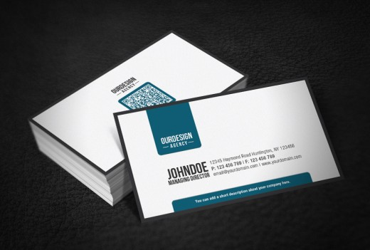 Amazing Examples Of Qr Code Business Card Designs Tutorialchip
