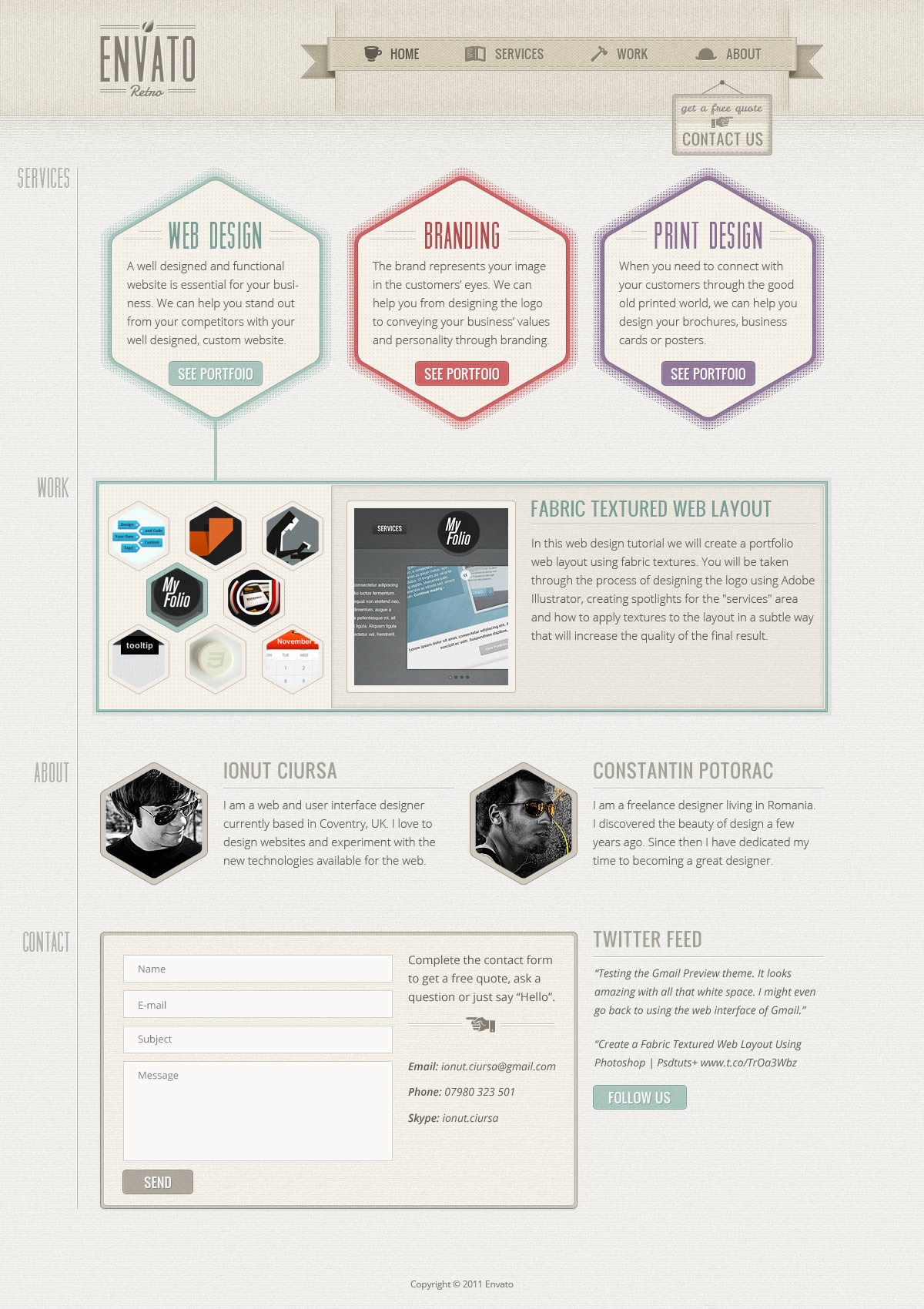 20 amazing photoshop web design tutorials creative splash web agency.
