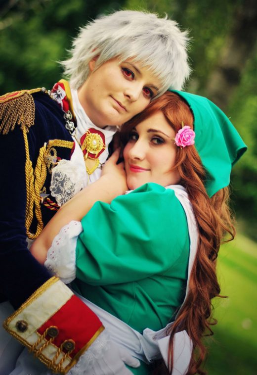 Hetalia - Prussia and Hungary