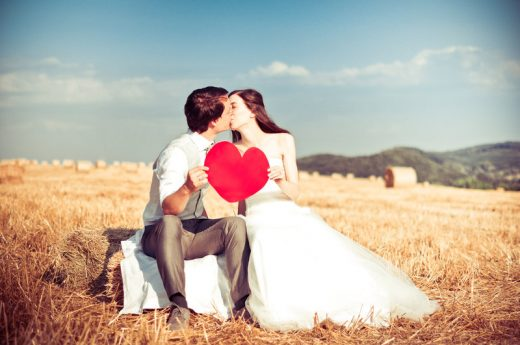 One Heart - Beautiful Couple Photography