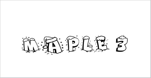 Maple 3 Cartoon